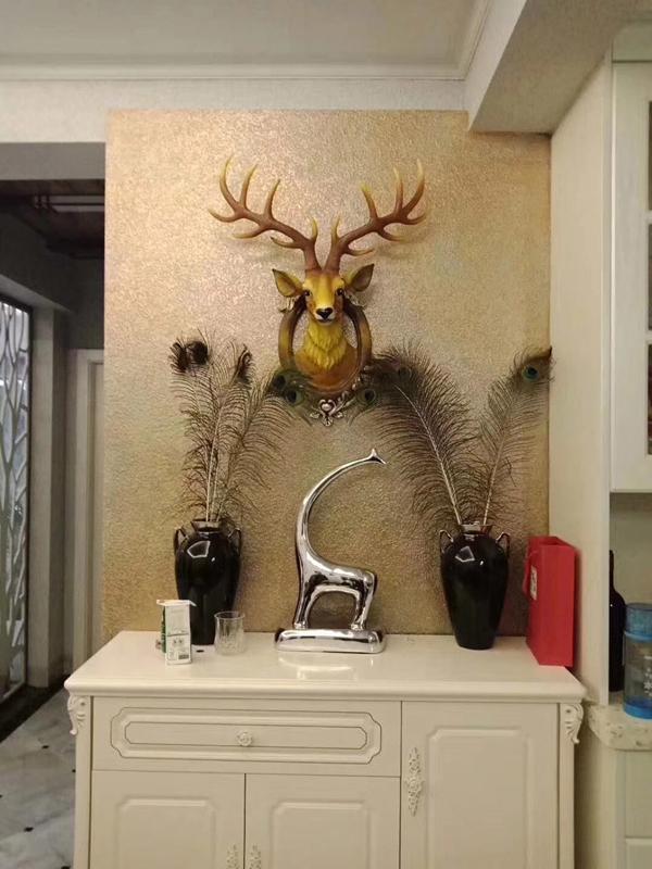 艺术涂料打造不同的家居风格和效果
